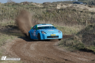VDZ Racing start Nissan 350Z Challenge in Zuiderzee Rally
