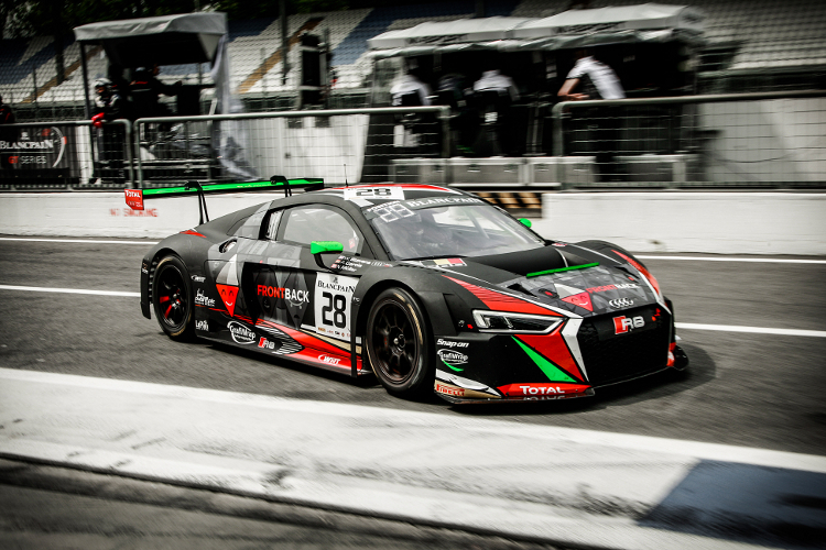 Twee top 10-plaatsen voor het Belgian Audi Club Team WRT in Monza
