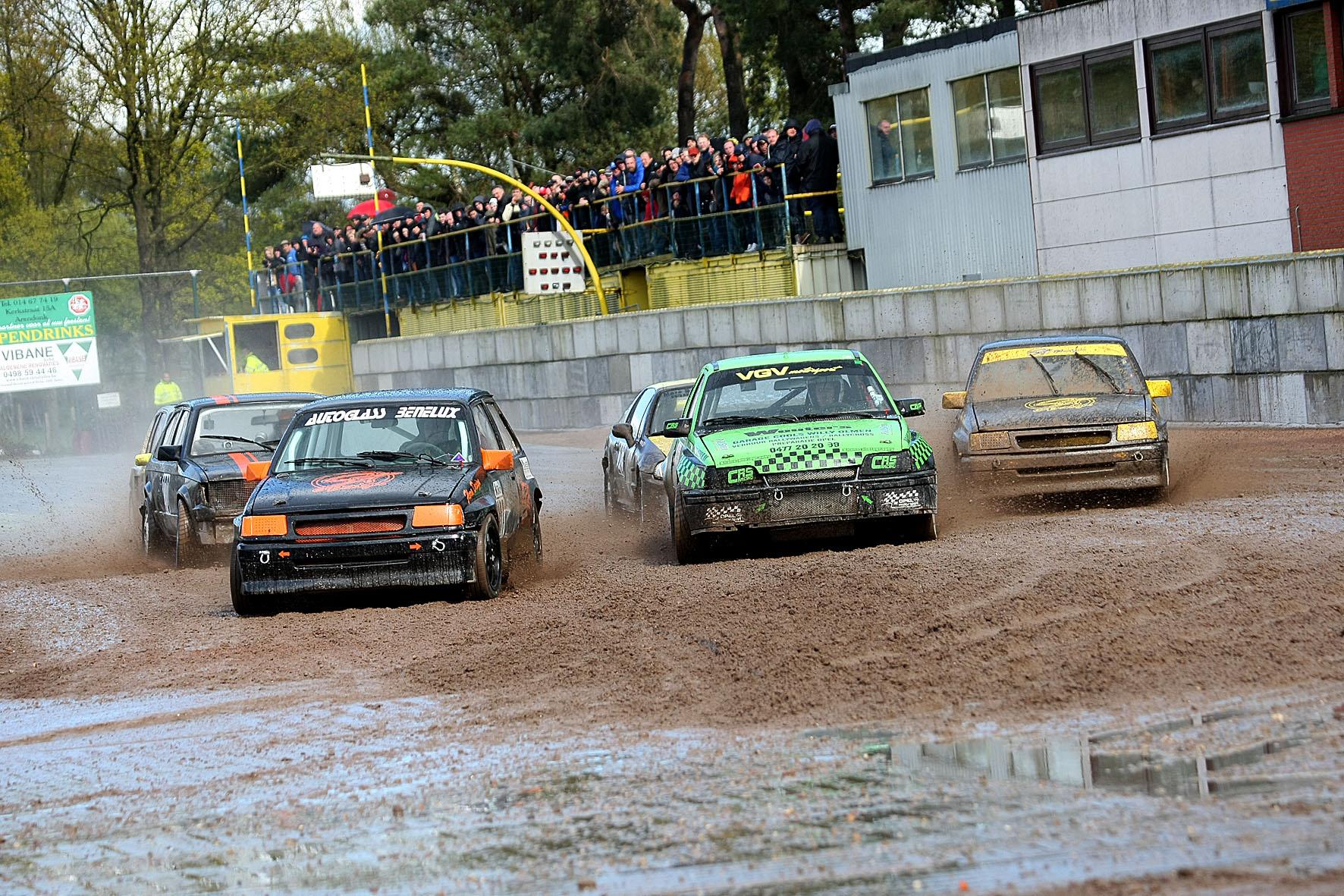 2e race op het Glosso circuit voor het Regionaal/VAS kampioenschap.