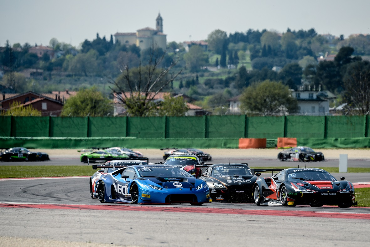Nederlands Lamborghini team gestart in Blancpain GT Series