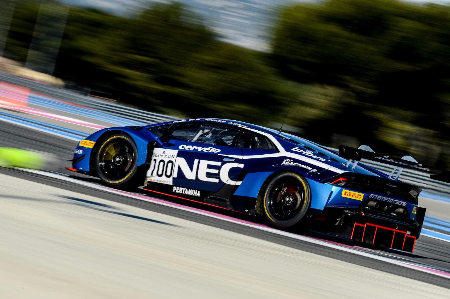 Nederlands Lamborghini team aan vooravond van nieuwe seizoen