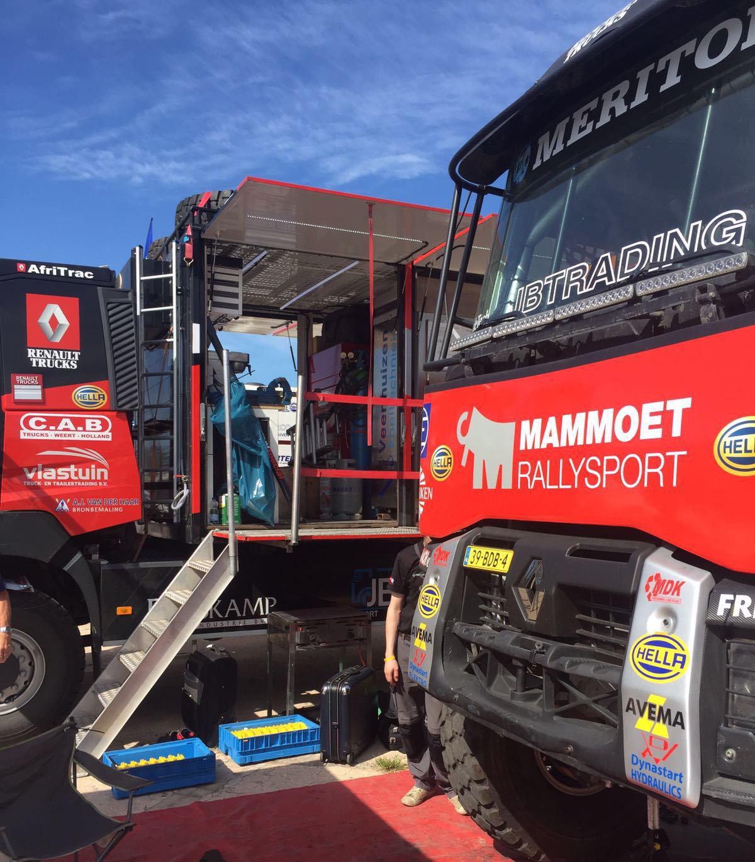 Mammoet rallysport: ´We gaan om testen, maar willen ook winnen´