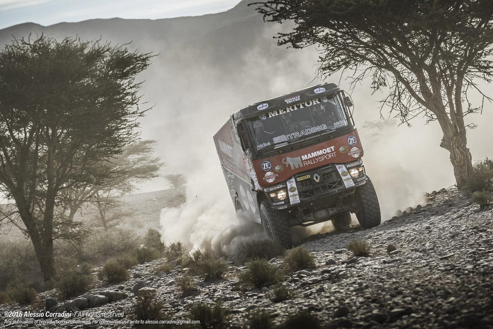 Mammoet Rallysport worstelt vooral met waypoints
