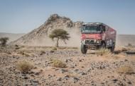 Mammoet rallysport: Team Mammoet maatje te groot voor concurrentie