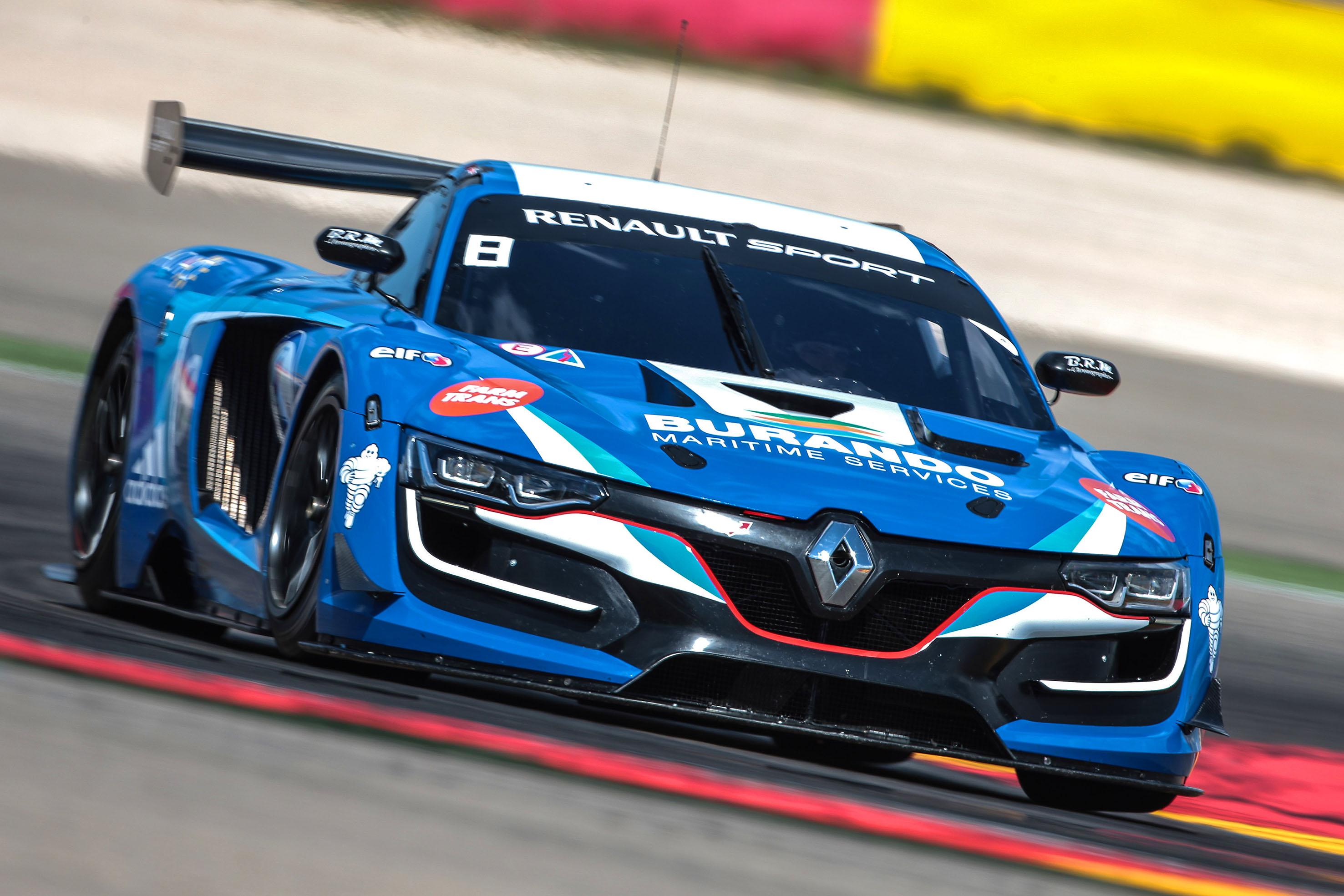 Meindert van Buuren Jr. toont snelheid in Renault Sport Trophy op Motorland