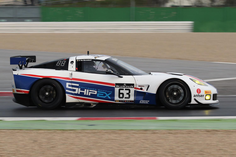 Knappe maidentrip voor Nicolas Vandierendonck met SRT-Corvette ZR1 in Blancpain GT Sports Club