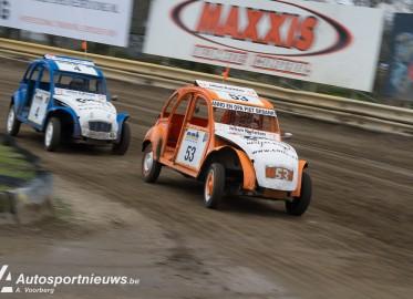 NK Rallycross 2016 Eurocircuit Wedstrijd 1 – 2CV Cross – A. Voorberg