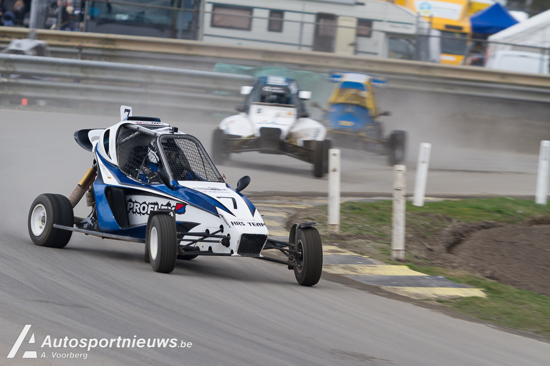 45e seizoen Rallycross op Eurocircuit