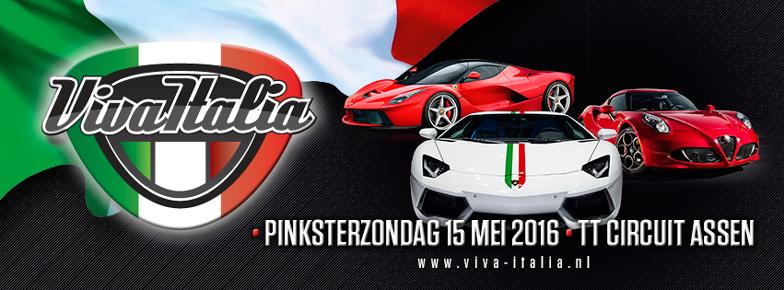 Pinksterzondag 15 mei: Viva Italia op het TT Circuit Assen