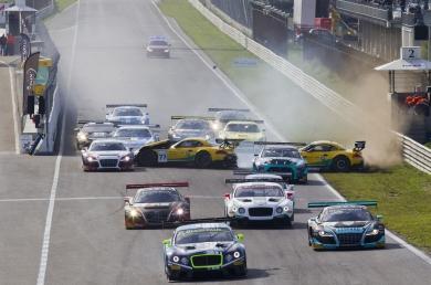 Blancpain Sprint Series zorgt voor spannende finale op Circuit Park Zandvoort