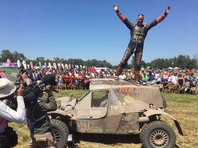 Maxxis Dakar Team: Tim Coronel finisht Dakar 2016