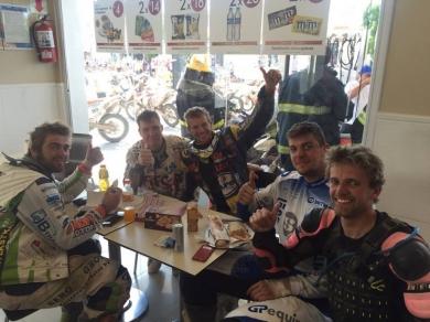 Robert van Pelt: Robert van Pelt brengt Dakar 2016 tot een goed einde