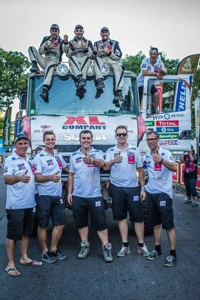 Dakarspeed: Twaalfde plaats ultieme teamprestatie