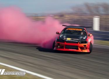 Demo NL Driftseries tijdens Automaxx streetpower 22-03-2015 – A. Voorberg