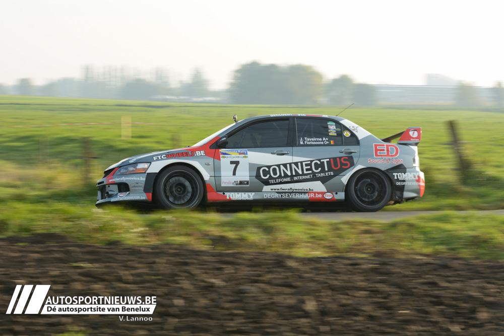 Volledig ERT team aan de start in de Rallysprint van de Monteberg