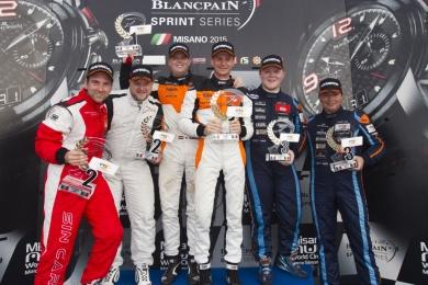 Beelen / Nooren Pr-kampioen in Competition102 GT4 European Series