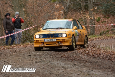 Robin Maes met Vicky Van de Walle naar TAC Rally