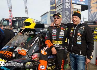 RTL GP Dakar PreProloog 2015 – Paddock – A. Voorberg