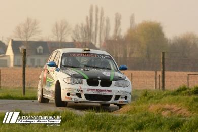 Hans Weijs en Bram Maes samen met Schmid Racing in TAC Rally 2016