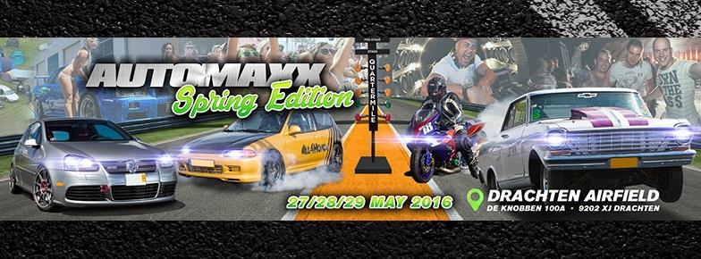 27 t/m 29 mei: AutoMaxx Spring Edition , Drachten Airfield