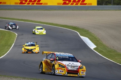 Coureur Tom Coronel sterk in tweede race FIA WTCC-weekend Japan