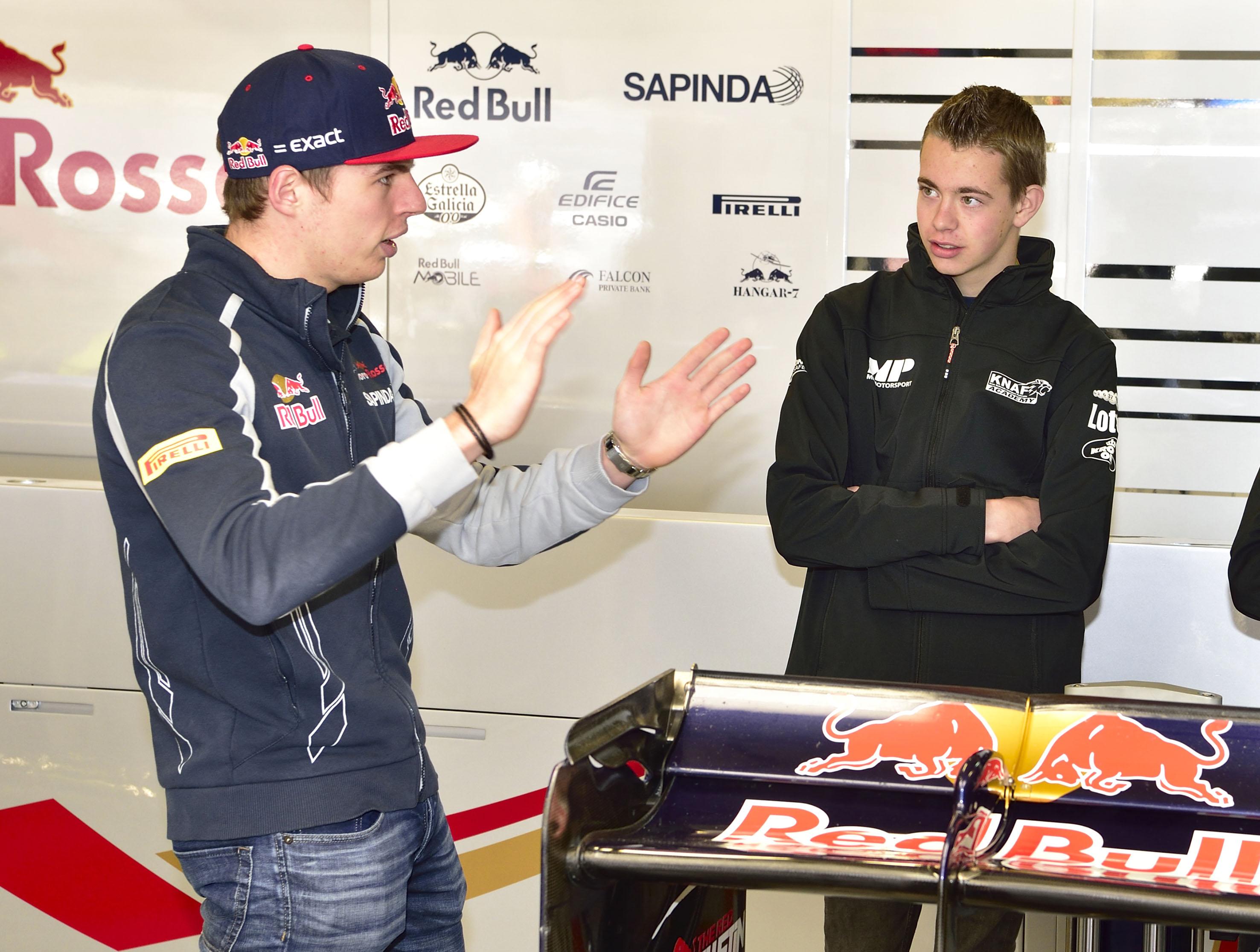 Richard Verschoor per direct in Red Bull-Juniorprogramma