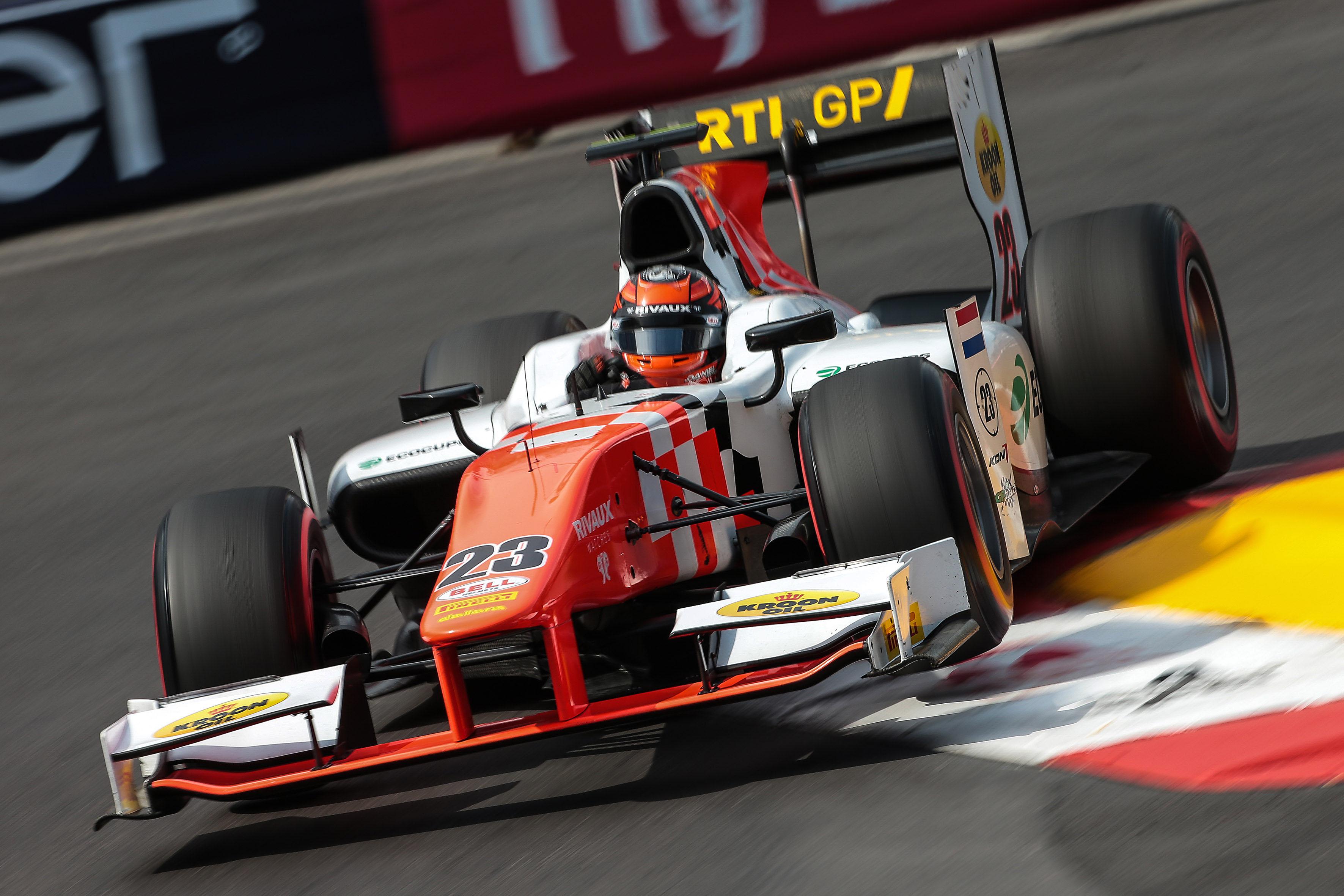 Fantastische race van Rowland in Monaco brengt MP Motorsport eerst GP2-podium van het seizoen