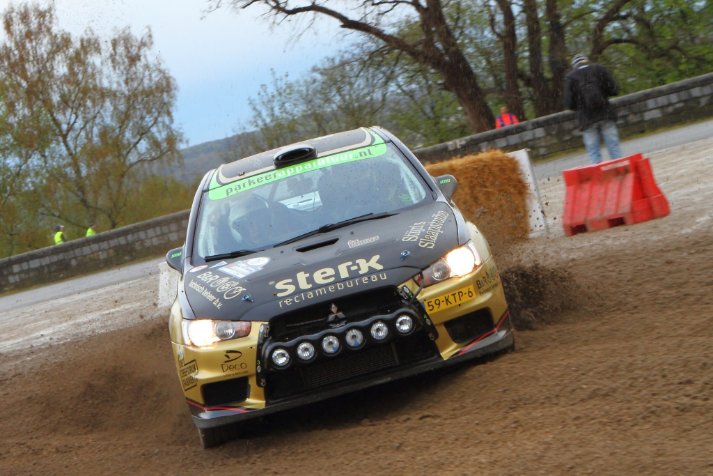 Pech voor Rookie Rally Team in de Rallye de Wallonie