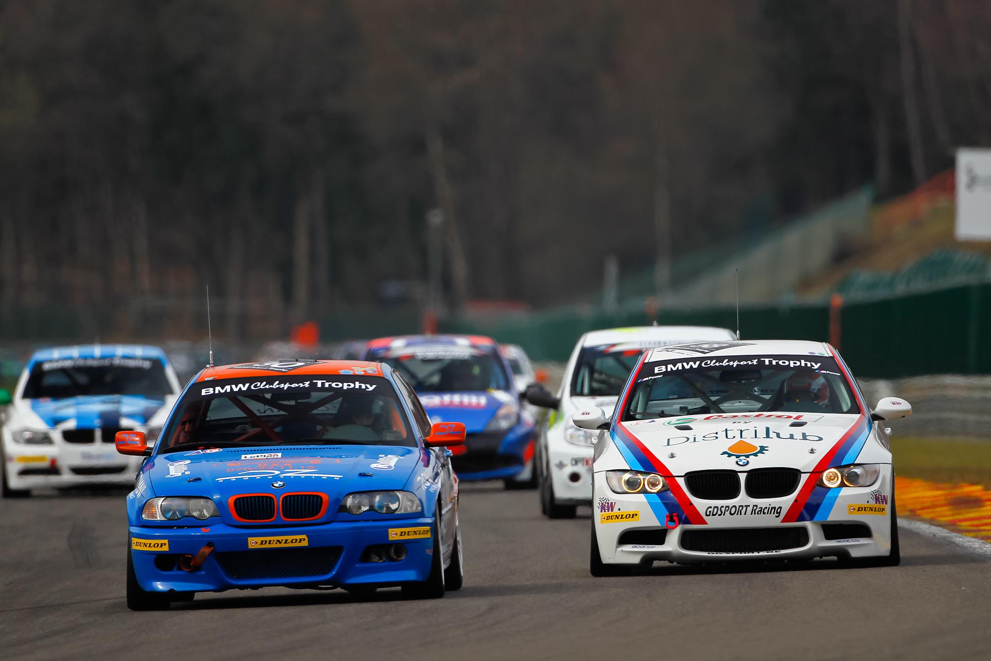 Circuitpark Zandvoort: plaats van afspraak voor derde ronde BMW Clubsport Trophy en BMW M235i Racing Cup