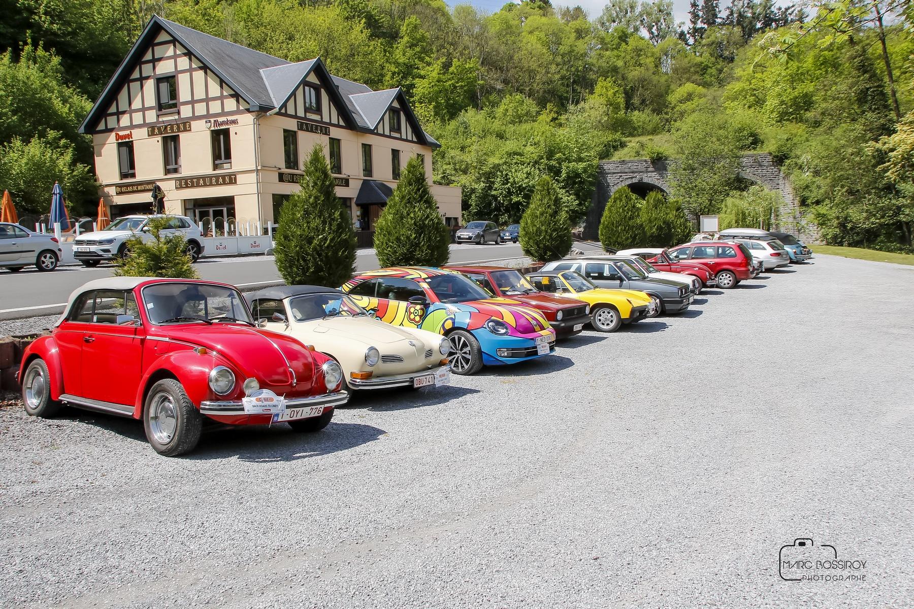Een erg geslaagde expo en eerste rally voor de Belgian VW Classics Club in Ciney