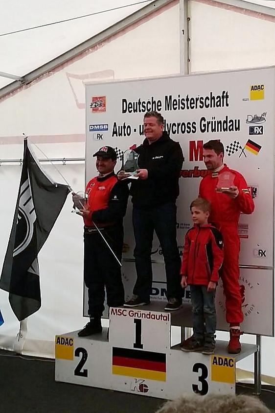 Rookie Van Ballegooijen succesvol in Duitse Rallycross