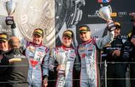 Het Belgian Audi Club Team WRT opnieuw op het podium in de Endurance Cup