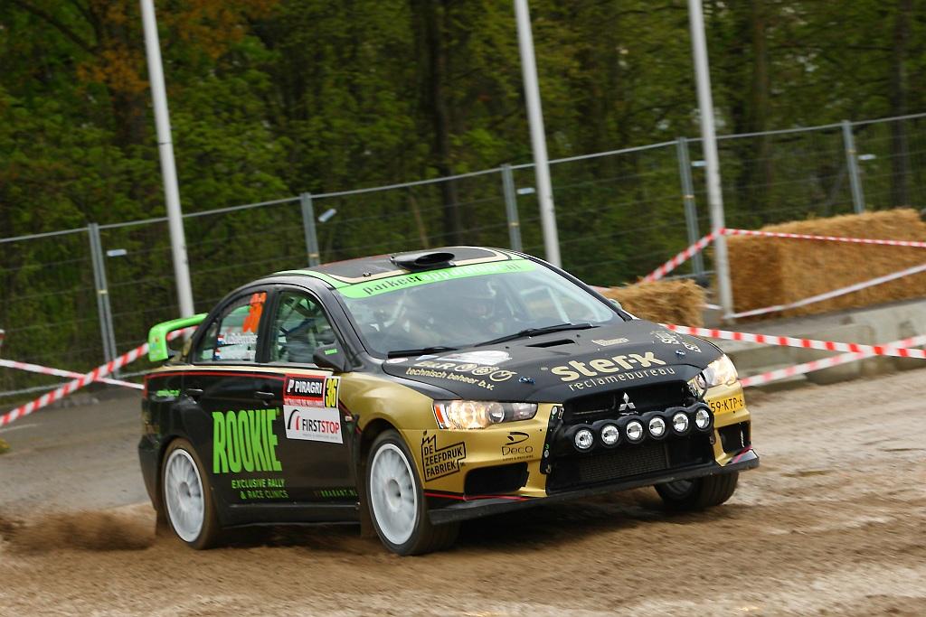 Ware krachttoer brengt Rookie Rally Team aan de start van ELE Rally