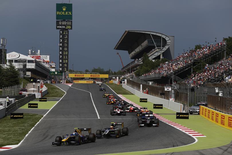 GP2 Spanje Dag 2: Lynn revancheert zich in de sprintrace