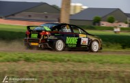 Rookie Rally Team handhaaft zich in subtop tijdens ELE Rally