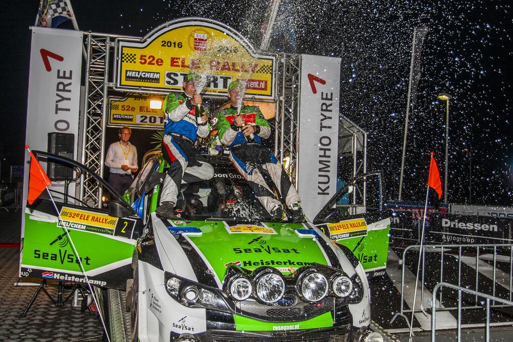 Erik van Loon wint de 52e ELE Rally!