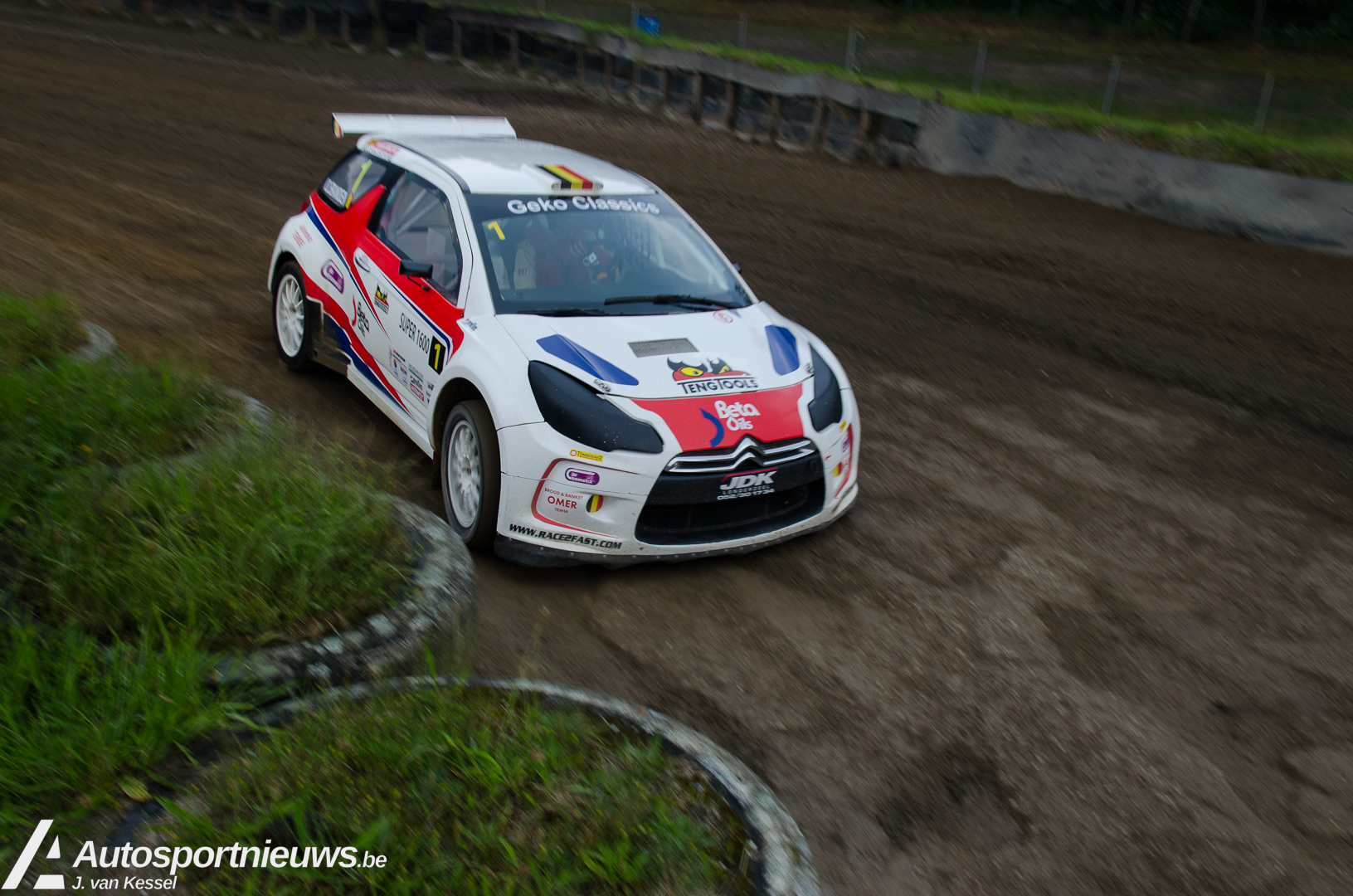 4e wedstrijd NK Rallycross