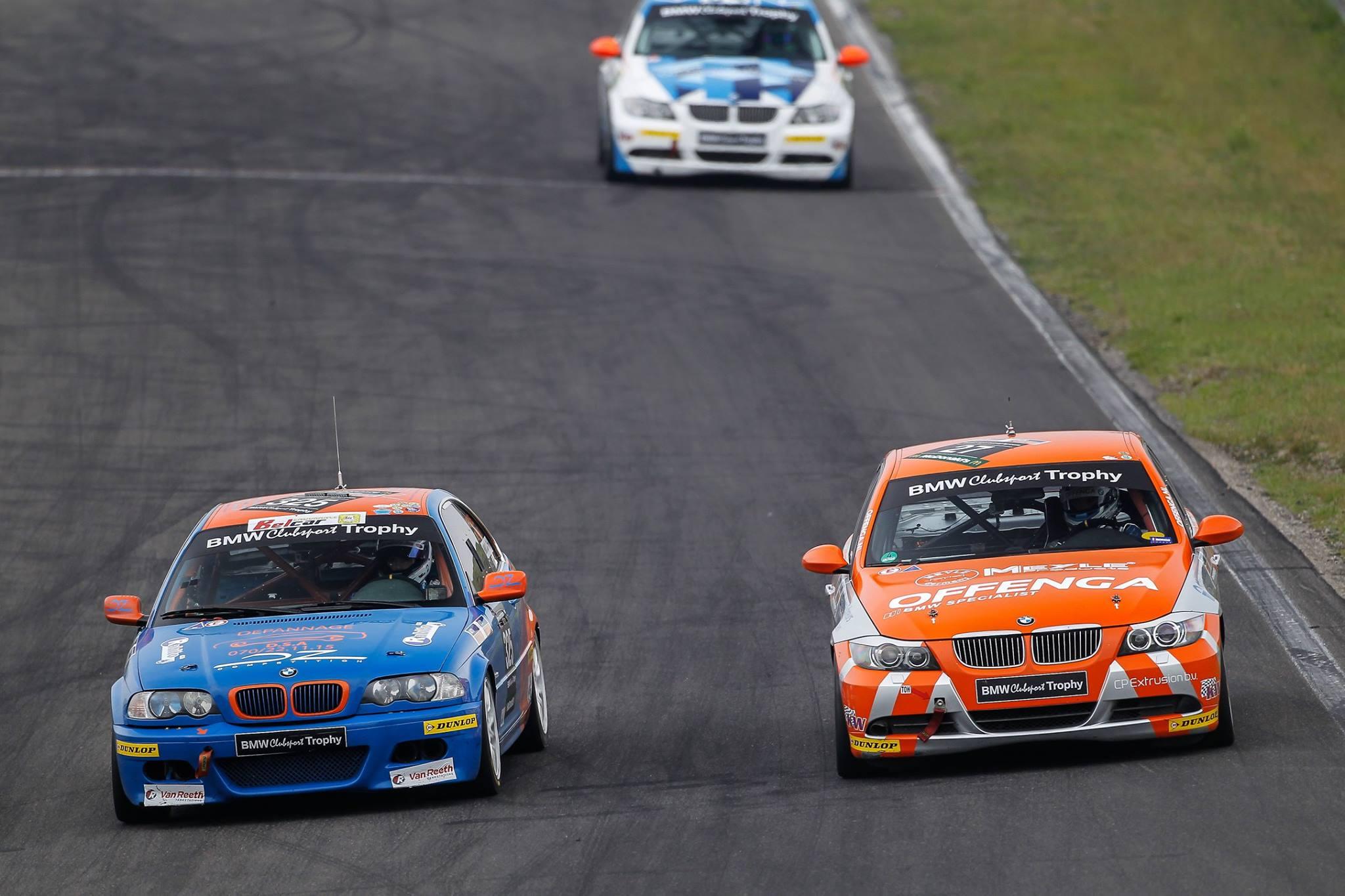 Het wordt drummen in Spa-Francorchamps voor de plaatsen vooraan in de BMW Racing Cups