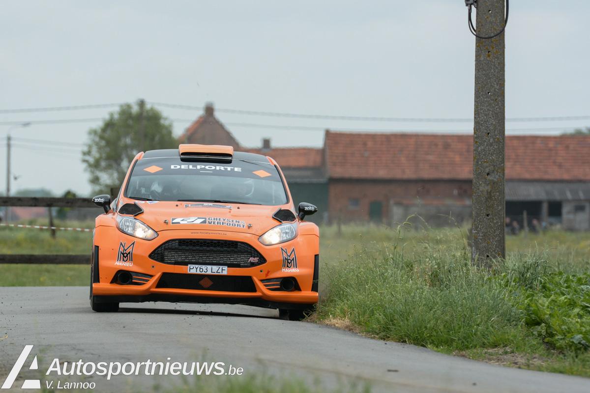 Top editie voor de Rally van Wervik - 156 deelnemers waarvan 8 R5 wagens