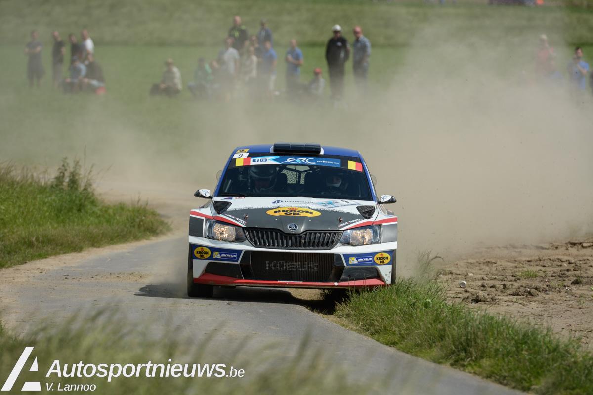 Hermen Kobus ambitieus in de Barum Rally