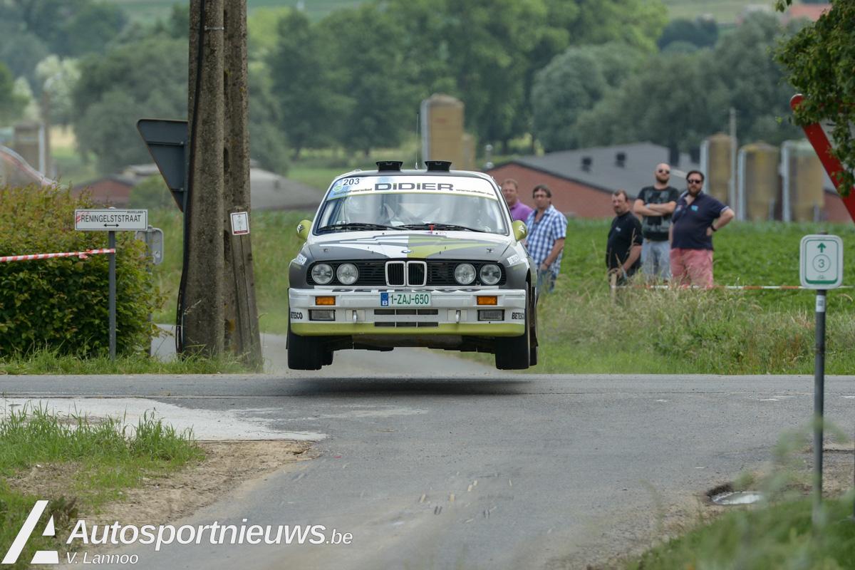 Didier Vanwijnsberghe wil zijn mannetje staan in TAC Rally!