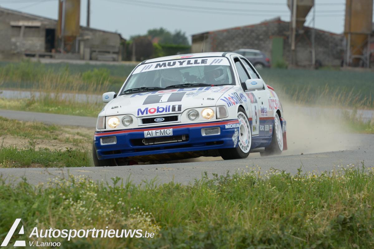 Las Vegas Ypres Historic Rally -Jonas Langenakens en Chris Van Woensel in Historic