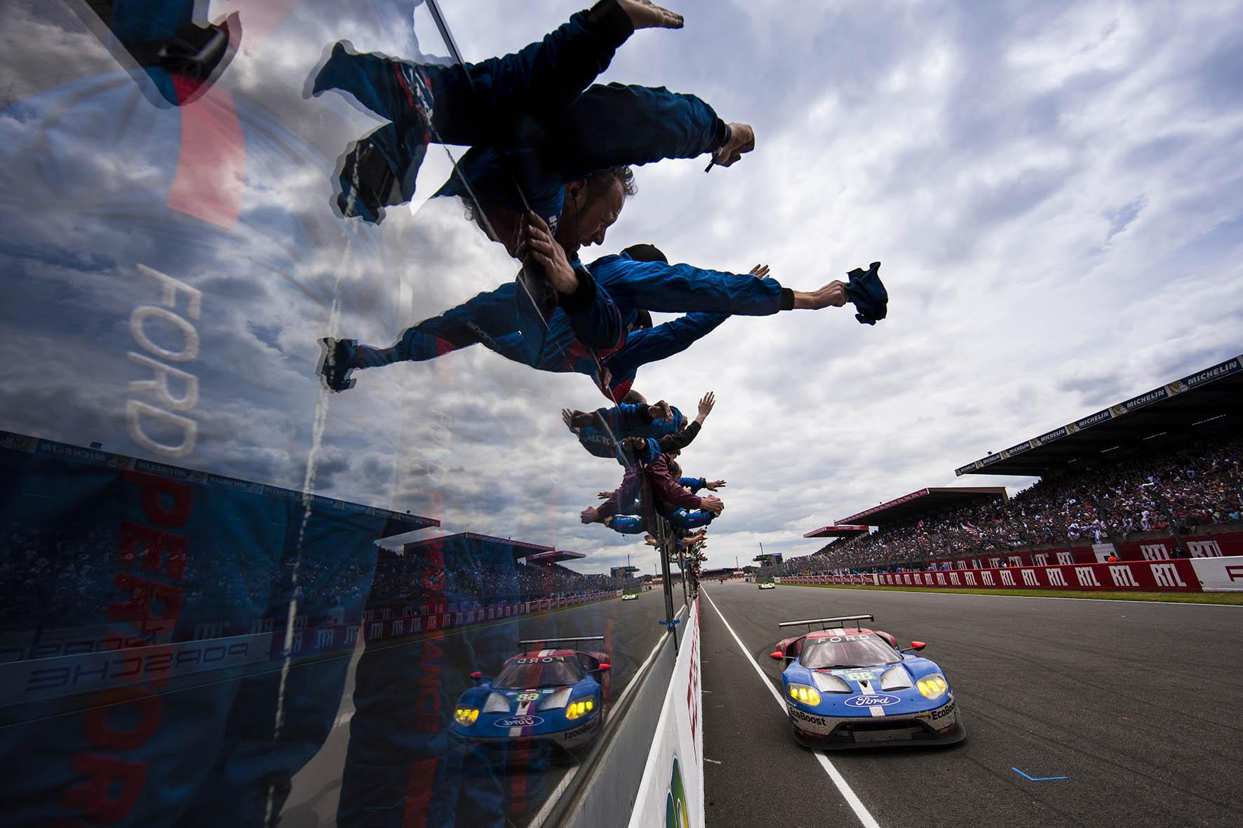 Ford wint 24 Uur van Le Mans