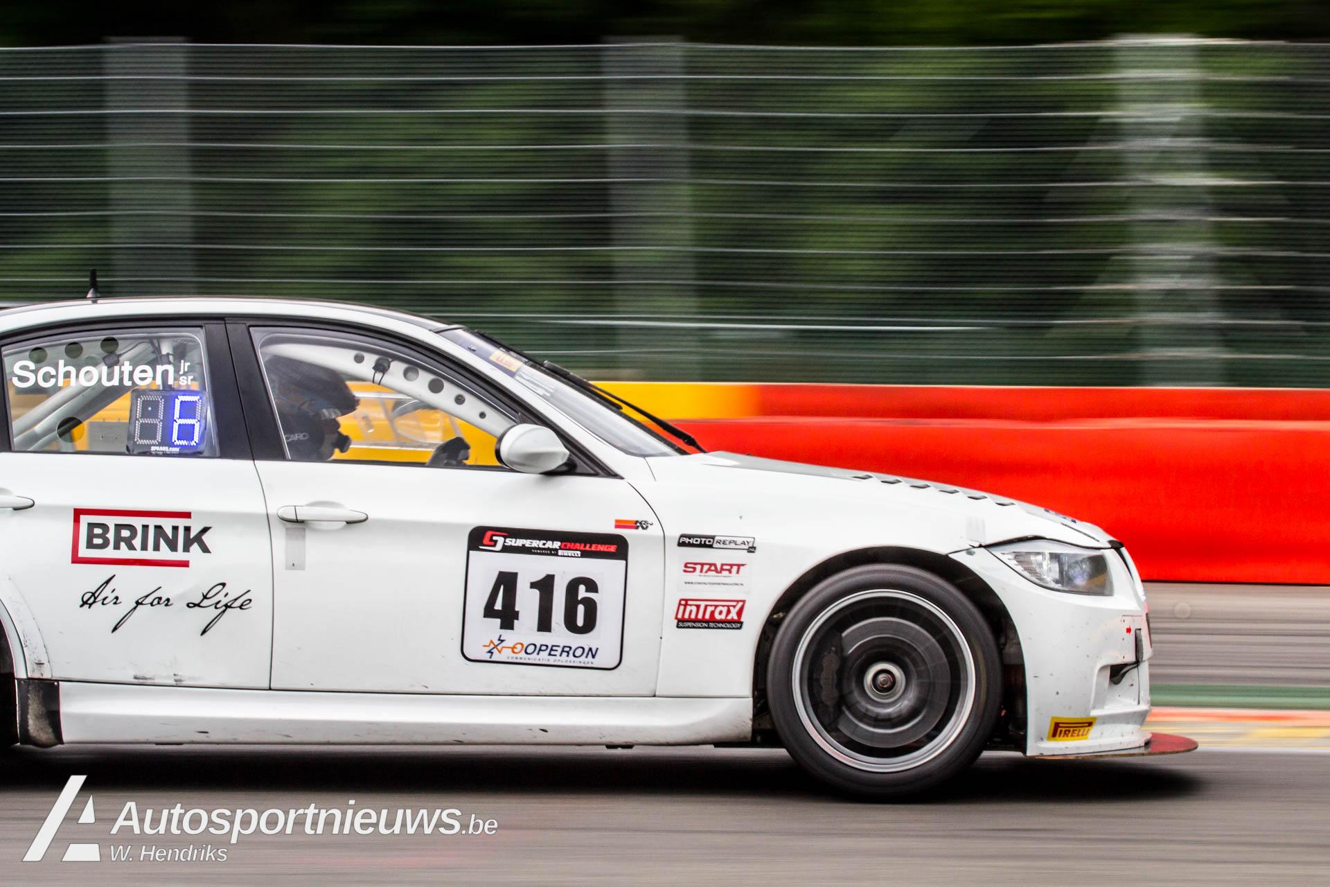 Overwinning voor Joris en Bas Schouten op Spa-Francorchamps