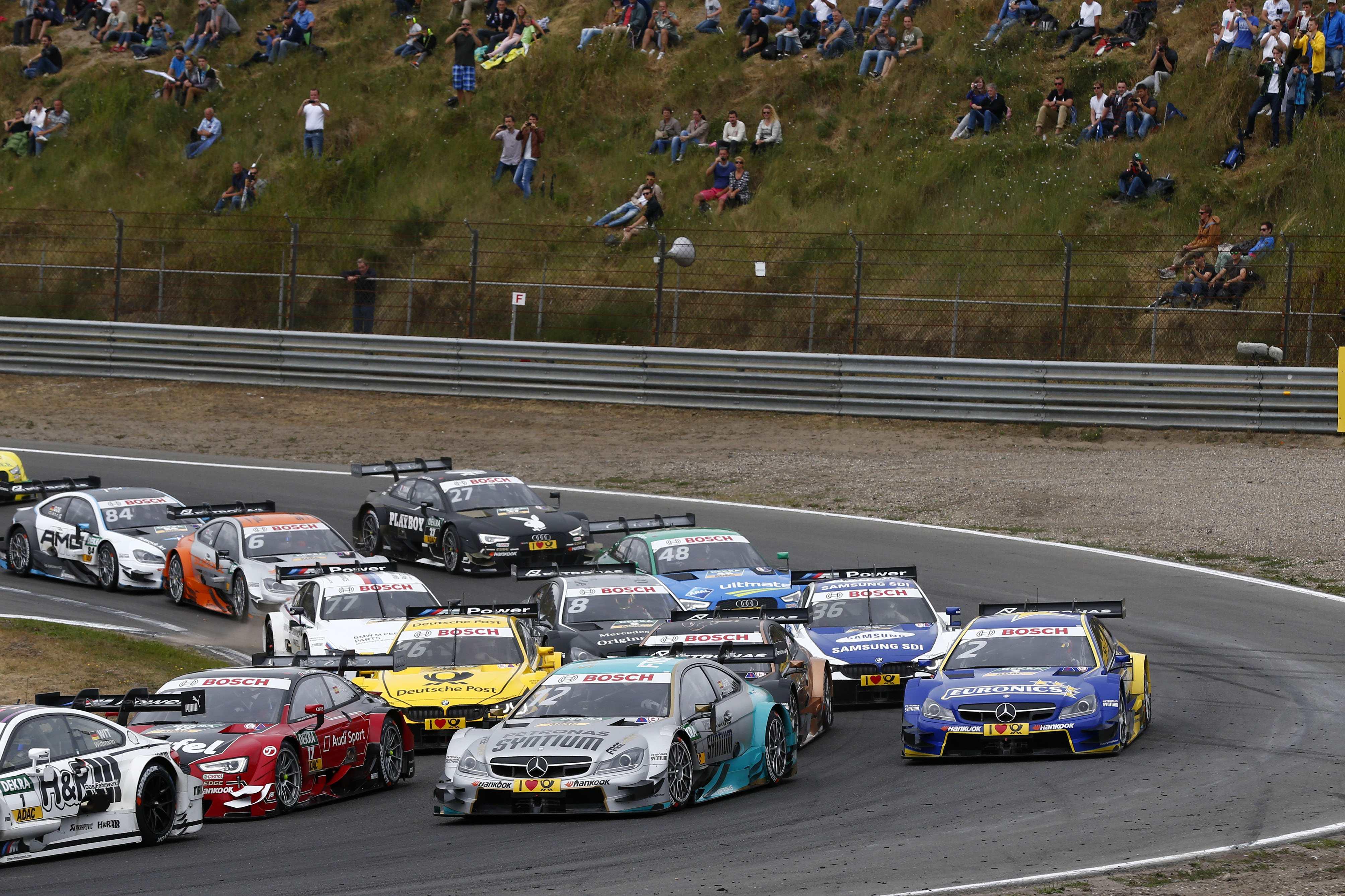 15 t/m 17 juli op Circuit Park Zandvoort: 'halbzeit' in de DTM