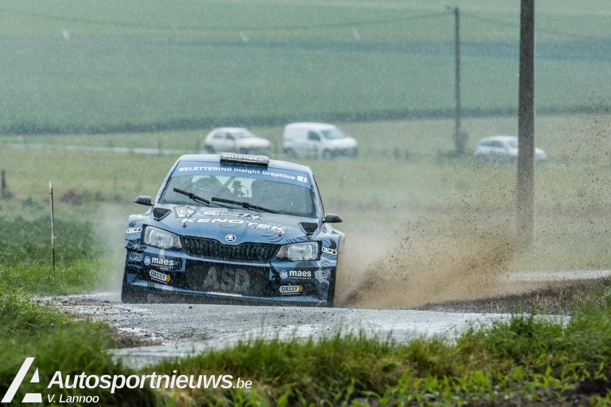 R5's kleuren prachtig deelnemersveld in Rally van Wervik!