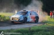 Thierry Neuville aan de start van de Rally van Ieper 2017