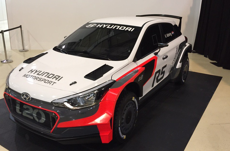 Wereldprimeur in de Kenotek Ypres Rally -Hyundai vervoegt de R5-troepen