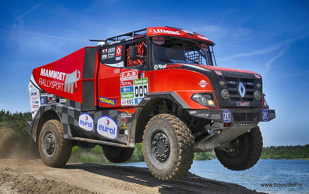 Sherpa krijgt vuurdoop in Silk Way Rally
