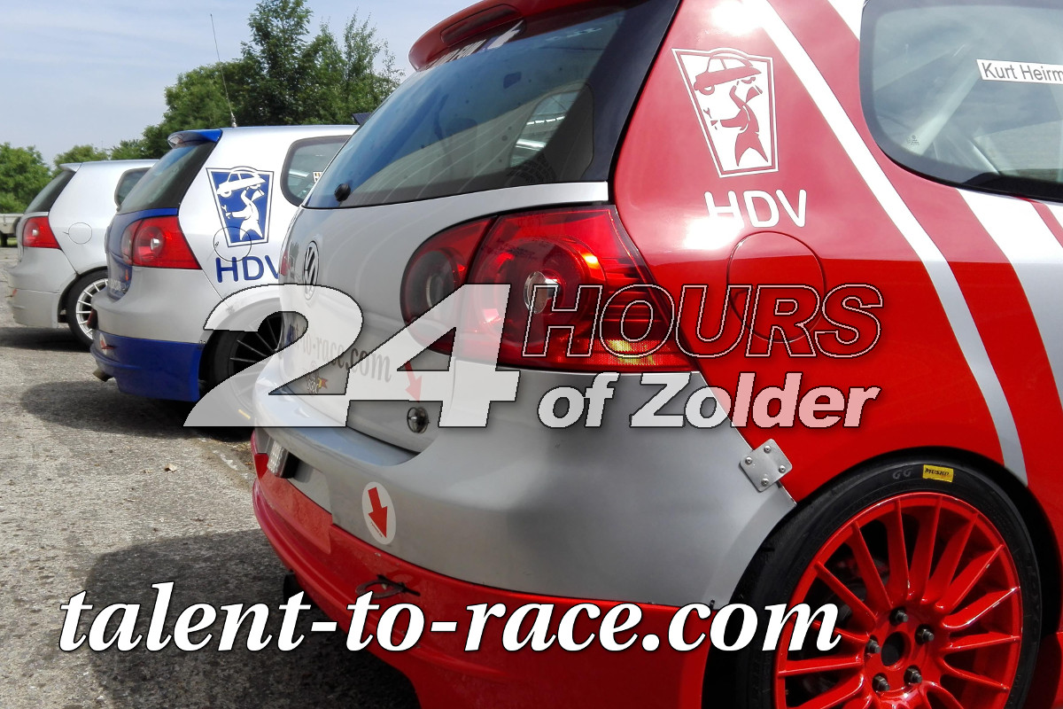 Talent-to-race.com een euro voor jouw favoriet in de 24 Uren van Zolder 2016
